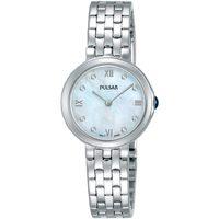 Relojes & Joyas Mujer Relojes analógicos Pulsar PM2243X1, Quartz, 26mm, 5ATM Plata