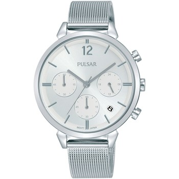 Relojes & Joyas Mujer Relojes analógicos Pulsar PT3943X1, Quartz, 36mm, 5ATM Plata