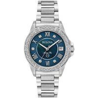 Relojes & Joyas Mujer Relojes analógicos Bulova 96R215, Quartz, 32mm, 10ATM Plata