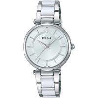 Relojes & Joyas Mujer Relojes analógicos Pulsar PH8191X1, Quartz, 30mm, 3ATM Plata