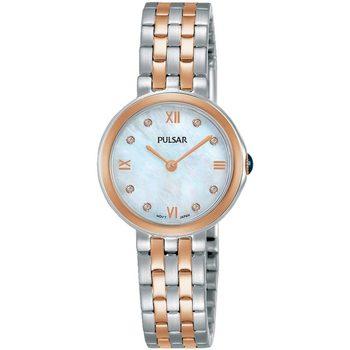 Relojes & Joyas Mujer Relojes analógicos Pulsar PM2246X1, Quartz, 26mm, 5ATM Oro