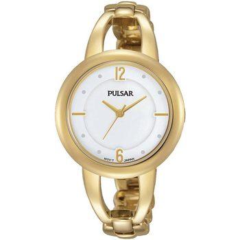 Relojes & Joyas Mujer Relojes analógicos Pulsar PH8206X1, Quartz, 33mm, 3ATM Oro