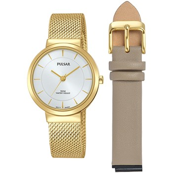 Relojes & Joyas Mujer Relojes analógicos Pulsar PH8402X2, Quartz, 30mm, 5ATM Oro