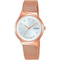 Relojes & Joyas Mujer Relojes analógicos Pulsar PH8442X1, Quartz, 30mm, 3ATM Oro