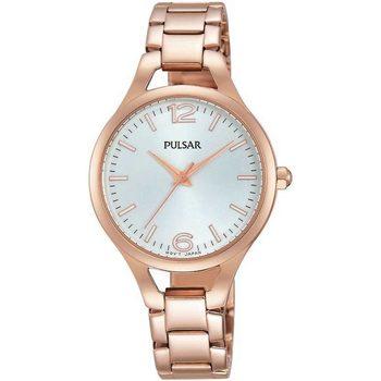 Relojes & Joyas Mujer Relojes analógicos Pulsar PH8190X1, Quartz, 30mm, 3ATM Oro