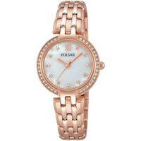 Relojes & Joyas Mujer Relojes analógicos Pulsar PH8168X1, Quartz, 28mm, 3ATM Oro