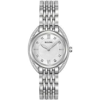 Relojes & Joyas Mujer Relojes analógicos Bulova 96R212, Quartz, 30mm, 3ATM Plata