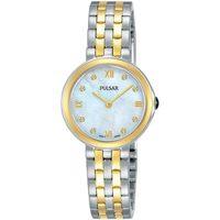 Relojes & Joyas Mujer Relojes analógicos Pulsar PM2244X1, Quartz, 26mm, 3ATM Plata