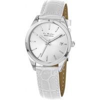Relojes & Joyas Mujer Relojes analógicos Jacques Lemans LP-132B, Quartz, 34mm, 10ATM Plata