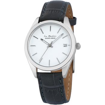 Relojes & Joyas Mujer Relojes analógicos Jacques Lemans LP-132J, Quartz, 34mm, 10ATM Plata