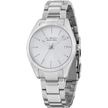 Relojes & Joyas Mujer Relojes analógicos Jacques Lemans LP-132F, Quartz, 34mm, 10ATM Plata