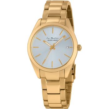 Relojes & Joyas Mujer Relojes analógicos Jacques Lemans LP-132I, Quartz, 34mm, 10ATM Oro