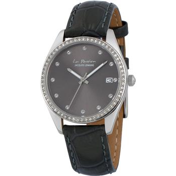 Relojes & Joyas Mujer Relojes analógicos Jacques Lemans LP-133A, Quartz, 34mm, 10ATM Plata