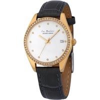 Relojes & Joyas Mujer Relojes analógicos Jacques Lemans LP-133K, Quartz, 35mm, 10ATM Oro