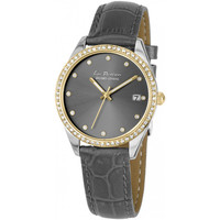 Relojes & Joyas Mujer Relojes analógicos Jacques Lemans LP-133C, Quartz, 35mm, 10ATM Plata