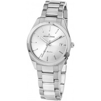 Relojes & Joyas Mujer Relojes analógicos Jacques Lemans 1-2084D, Quartz, 30mm, 10ATM Plata