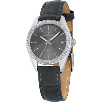 Relojes & Joyas Mujer Relojes analógicos Jacques Lemans 1-2085A, Quartz, 30mm, 10ATM Plata