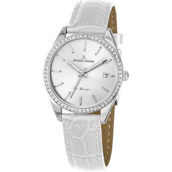 Relojes & Joyas Mujer Relojes analógicos Jacques Lemans 1-2085B, Quartz, 30mm, 10ATM Plata