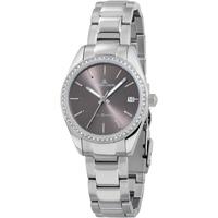 Relojes & Joyas Mujer Relojes analógicos Jacques Lemans 1-2085E, Quartz, 30mm, 10ATM Plata
