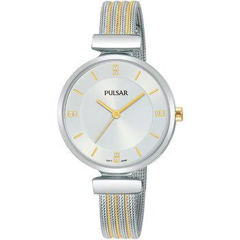 Relojes & Joyas Mujer Relojes analógicos Pulsar PH8469X1, Quartz, 30mm, 3ATM Plata