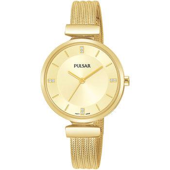 Relojes & Joyas Mujer Relojes analógicos Pulsar PH8470X1, Quartz, 30mm, 3ATM Oro