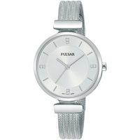 Relojes & Joyas Mujer Relojes analógicos Pulsar PH8467X1, Quartz, 30mm, 3ATM Plata