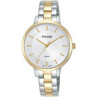 Relojes & Joyas Mujer Relojes analógicos Pulsar PH8476X1, Quartz, 32mm, 5ATM Oro