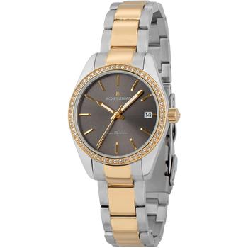 Relojes & Joyas Mujer Relojes analógicos Jacques Lemans 1-2085G, Quartz, 30mm, 10ATM Plata