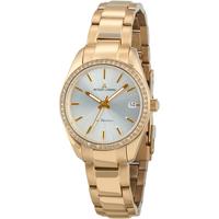 Relojes & Joyas Mujer Relojes analógicos Jacques Lemans 1-2085H, Quartz, 30mm, 10ATM Oro