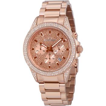 Relojes & Joyas Mujer Relojes analógicos Jacques Lemans 1-2051B, Quartz, 42mm, 10ATM Oro
