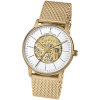 Relojes & Joyas Mujer Relojes analógicos Jacques Lemans N-207ZE, Automatic, 38mm, 5ATM Oro