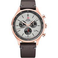 Relojes & Joyas Hombre Relojes analógicos Swiss Military By Chrono SM34081.09, Quartz, 42mm, 10ATM Oro