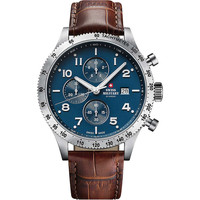 Relojes & Joyas Hombre Relojes analógicos Swiss Military By Chrono SM34084.06, Quartz, 42mm, 10ATM Plata
