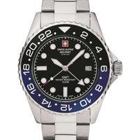 Relojes & Joyas Hombre Relojes analógicos Swiss Alpine Military 7052.1132, Quartz, 42mm, 10ATM Plata