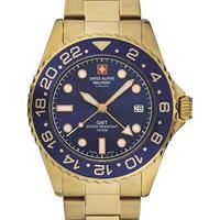 Relojes & Joyas Hombre Relojes analógicos Swiss Alpine Military 7052.1115, Quartz, 42mm, 10ATM Oro