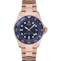 Relojes & Joyas Hombre Relojes analógicos Swiss Alpine Military 7052.1165, Quartz, 42mm, 10ATM Oro