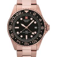 Relojes & Joyas Hombre Relojes analógicos Swiss Alpine Military 7052.1167, Quartz, 42mm, 10ATM Oro