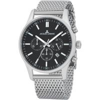 Relojes & Joyas Hombre Relojes analógicos Jacques Lemans 1-2025F, Quartz, 42mm, 10ATM Plata