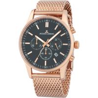 Relojes & Joyas Hombre Relojes analógicos Jacques Lemans 1-2025I, Quartz, 42mm, 10ATM Oro