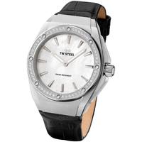 Relojes & Joyas Mujer Relojes analógicos Tw-Steel CE4027, Quartz, 38mm, 10ATM Plata