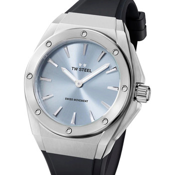 Relojes & Joyas Mujer Relojes analógicos Tw-Steel CE4031, Quartz, 38mm, 10ATM Plata