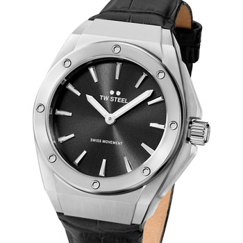 Relojes & Joyas Mujer Relojes analógicos Tw-Steel CE4033, Quartz, 38mm, 10ATM Plata