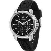 Relojes & Joyas Hombre Relojes analógicos Maserati R8871621014, Quartz, 44mm, 5ATM Plata