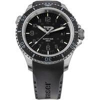 Relojes & Joyas Hombre Relojes analógicos Traser H3 109377, Quartz, 46mm, 50ATM Plata