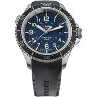 Relojes & Joyas Hombre Relojes analógicos Traser H3 109374, Quartz, 46mm, 50ATM Plata