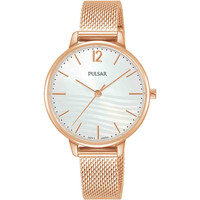 Relojes & Joyas Mujer Relojes analógicos Pulsar PH8486X1, Quartz, 32mm, 5ATM Oro