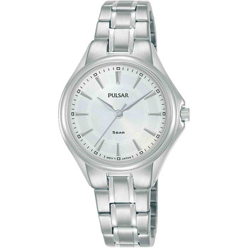 Relojes & Joyas Mujer Relojes analógicos Pulsar PH8495X1, Quartz, 30mm, 5ATM Plata