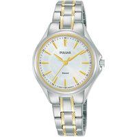 Relojes & Joyas Mujer Relojes analógicos Pulsar PH8499X1, Quartz, 30mm, 5ATM Plata