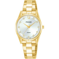 Relojes & Joyas Mujer Relojes analógicos Pulsar PH8506X1, Quartz, 28mm, 10ATM Oro