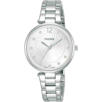 Relojes & Joyas Mujer Relojes analógicos Pulsar PH8489X1, Quartz, 30mm, 5ATM Plata